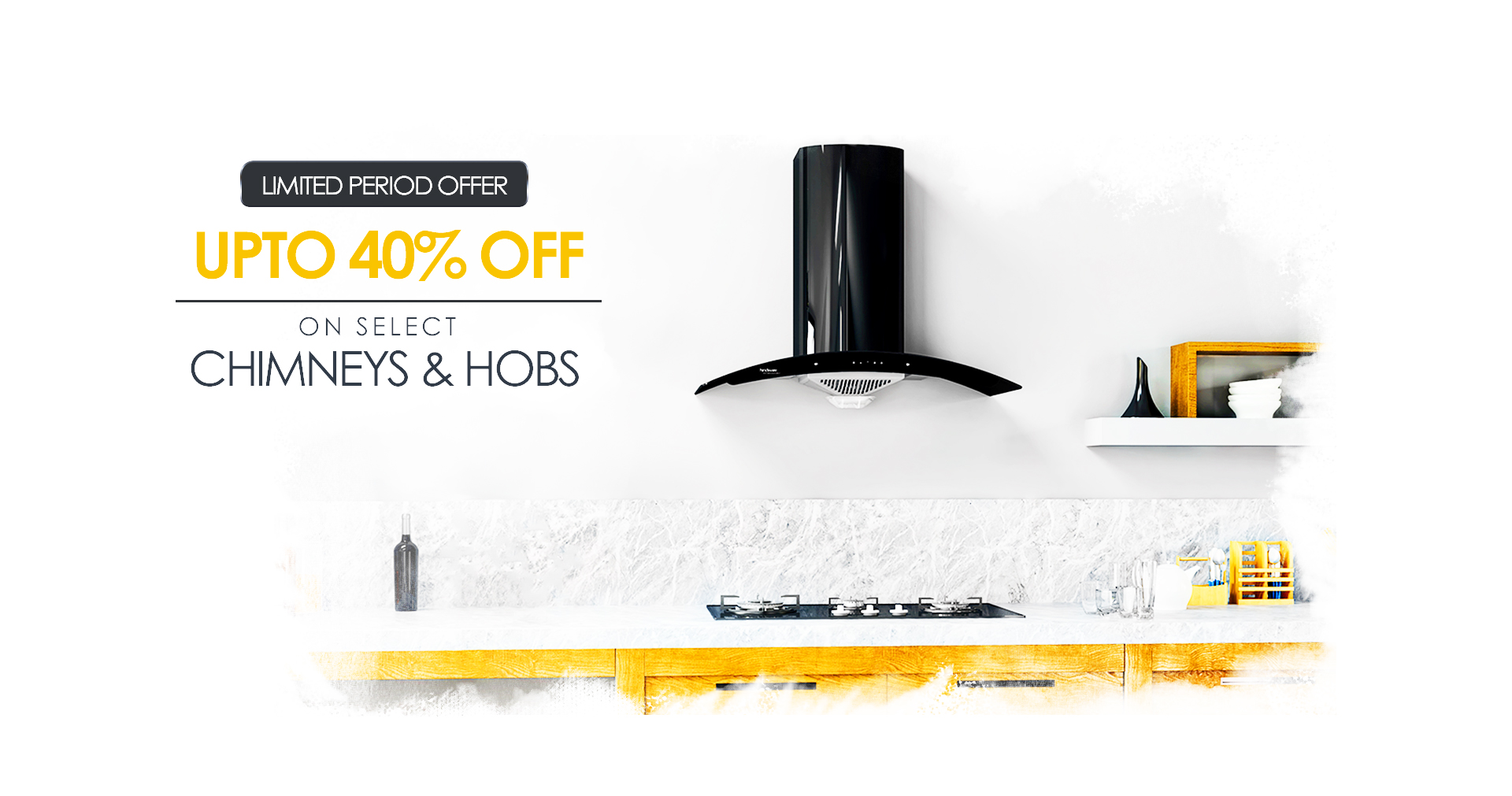 40% off on select Chimneys on decure.in