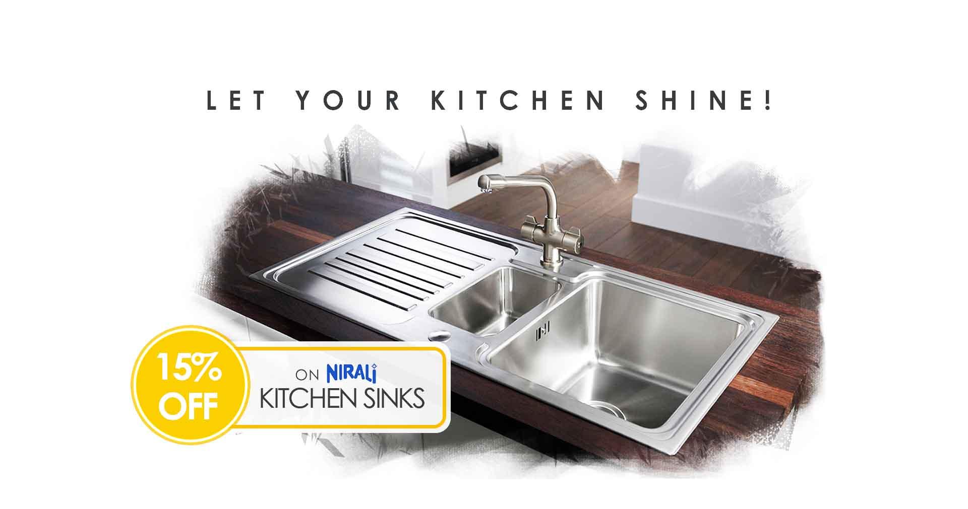 Buy Nirali Kitchen Sinks on decure.in