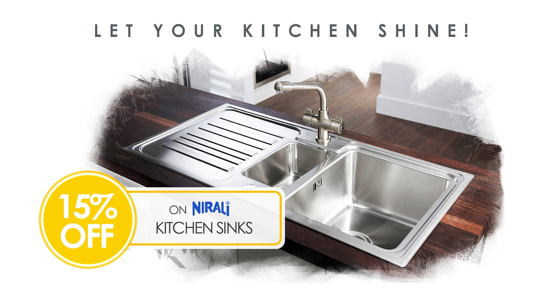 Buy Nirali Kitchen Sinks on decure.in