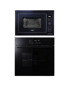 Whirlpool Oven And Microwave Combo BLACK GLASS COMBO 70