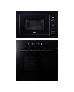 Whirlpool Oven And Microwave Combo BLACK GLASS COMBO 68