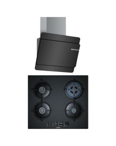 Bosch Chimney And Hob Combo BLACK GLASS COMBO 27