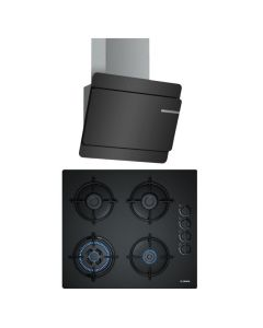 Bosch Chimney And Hob Combo BLACK GLASS COMBO 28