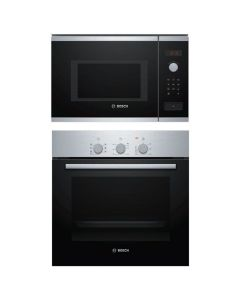 Bosch Oven + Microwave Combo STAINLESS STEEL + BLACK Finish BOOM-03