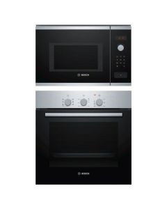 Bosch Oven And Microwave Combo BLACK GLASS COMBO 01