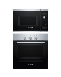 Bosch Oven And Microwave Combo BLACK GLASS COMBO 02