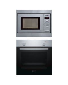 Hafele Oven And Microwave Combo BLACK GLASS COMBO 03