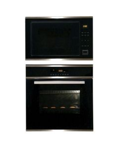 Elica Oven And Microwave Combo BLACK GLASS COMBO 13