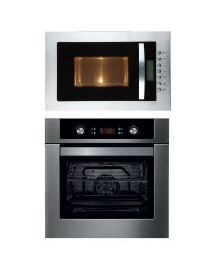 Elica Oven And Microwave Combo BLACK GLASS COMBO 15