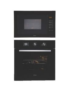 Elica Oven And Microwave Combo BLACK GLASS COMBO 04
