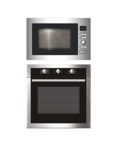 Elica Oven And Microwave Combo STAINLESS STEEL COMBO 06
