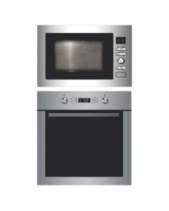 Elica Oven And Microwave Combo STAINLESS STEEL COMBO 07