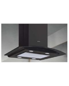 Elica Chimney EDS Deep Silence Series GLACE ISLAND EDS PLUS HE LTW 90 NERO T4V LED