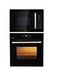 Hindware Oven And Microwave Combo BLACK GLASS COMBO 19