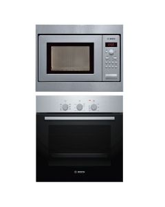 Bosch Oven + Microwave Combo STAINLESS STEEL Finish BOOM-02