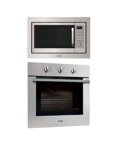 Glen Oven And Microwave Combo STAINLESS STEEL COMBO 64