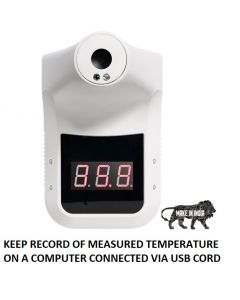 C19 OSEL Wall Mount Infrared Thermometer with USB data logger