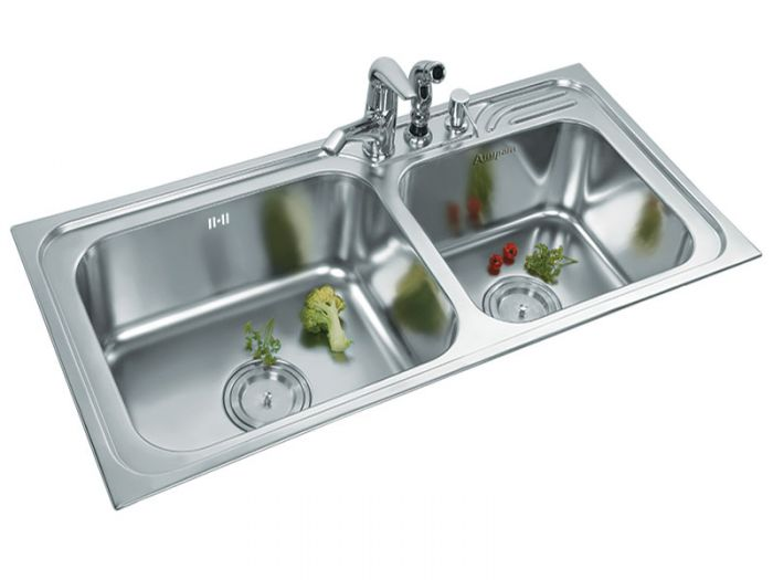 Anupam Drop In Stainless Steel Kitchen Sink Luxury Series Ls338bb On Decure In